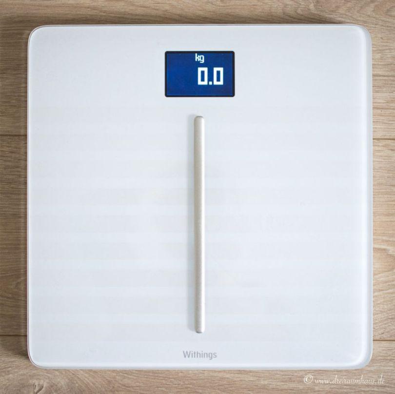 mein Gewicht ist vernetzt...mit der Withings Body Cardio...#weighsmartebodycardio