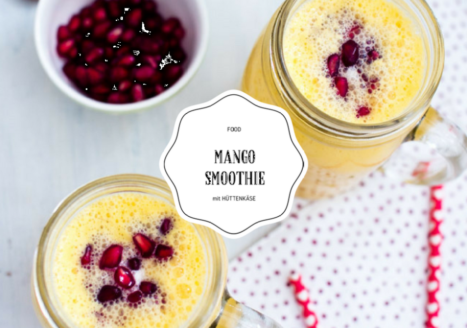 Yeeaaahhh - Montagsmotivation mit Nancy Mulligan und Mango Smoothie...