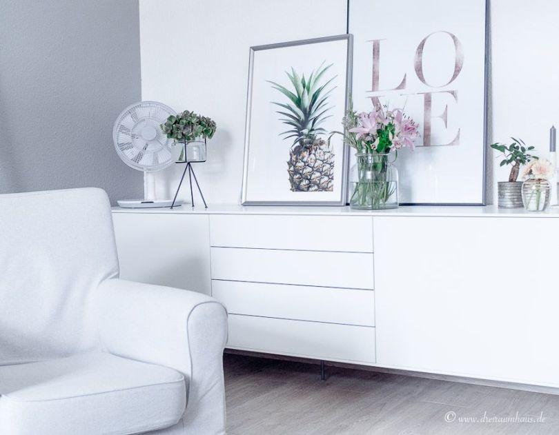 Warum ein Sideboard in keinem Wohnzimmer fehlen darf und wie man es gekonnt in Szene setzt? Inspiration mit BoConcept Fermo!