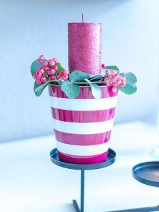 Ein Adventskranz mit Krasilnikoff Tassen und Geschenke für Euch! Ein Gewinnspiel mit Herz!
