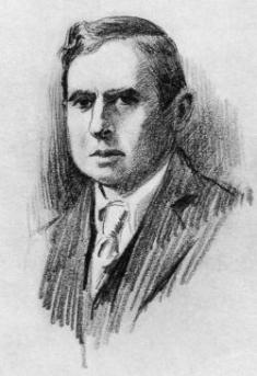 sketch of Dreiser by Frank Harris