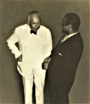 Dreiser and Paul Robeson; courtesy Vigo County Historical Society