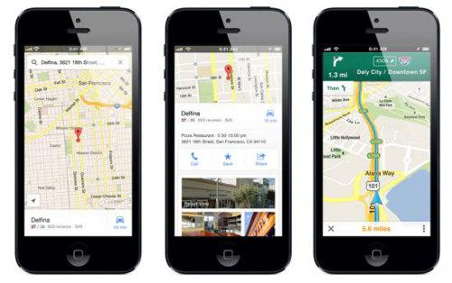 Google Maps disponible en iOS 6