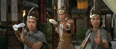 Chan Shen et sa garde eagle