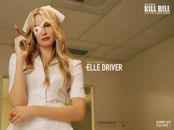 Elle Driver (Daryl Hannah) dans Kill Bill