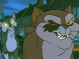 Barbe Bleue dans Felidae (1994)