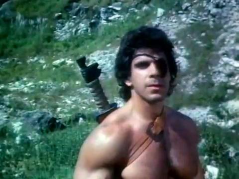 Lou Ferrigno dans Desert Warrior