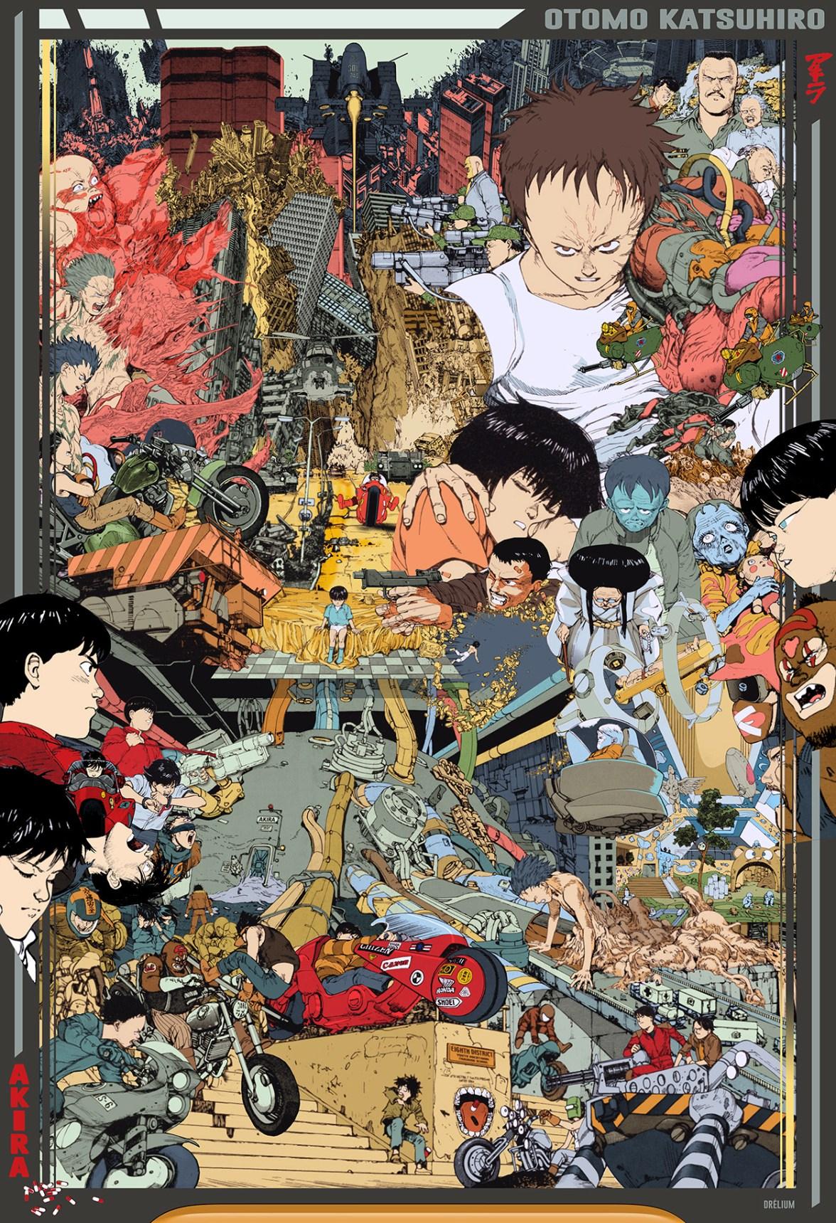 Akira tribute by drélium