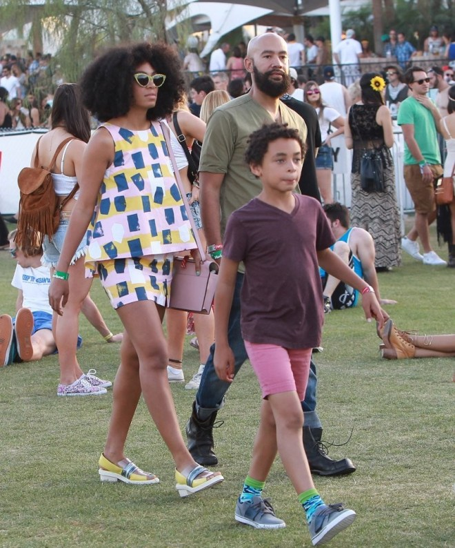 solange knowles and family