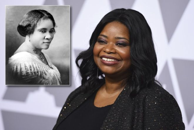 octavia spencer as madam cj walker