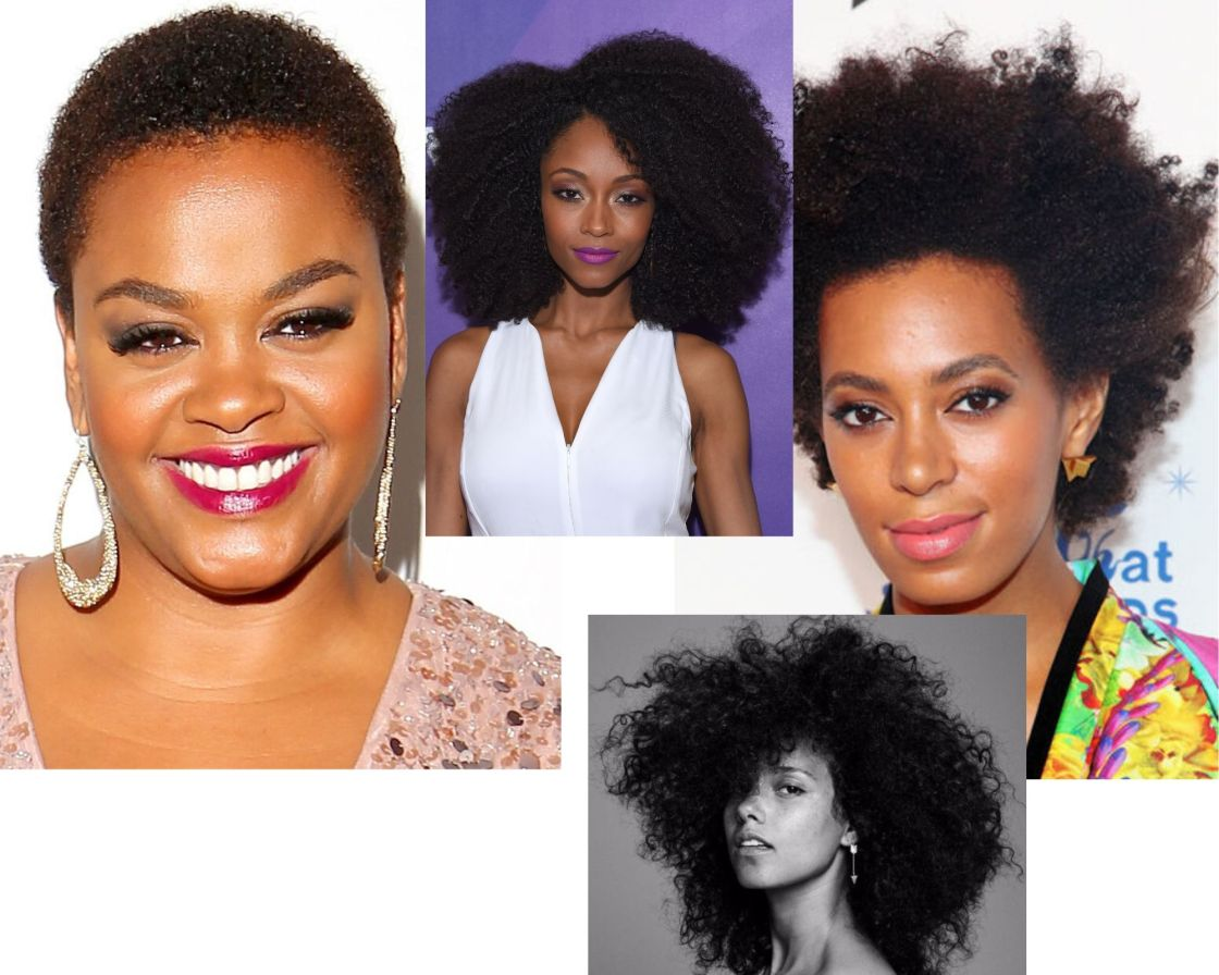 black celebrities with nappy hair