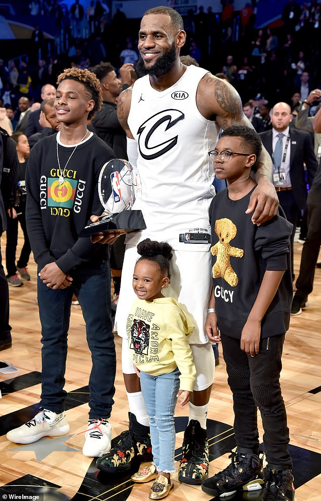 zhuri james and family