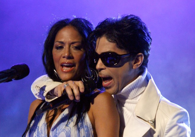 prince with sheila e