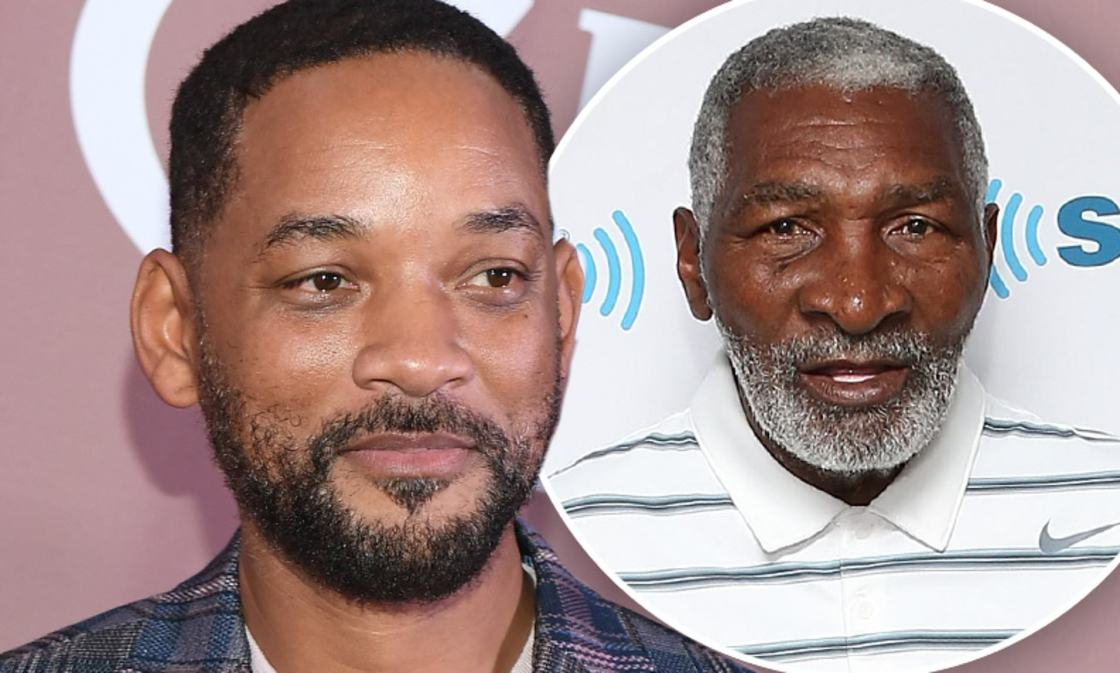 will smith as richard williams in king richard movie