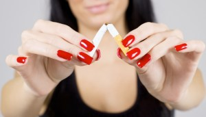 Stop smoking! Bad for your skin