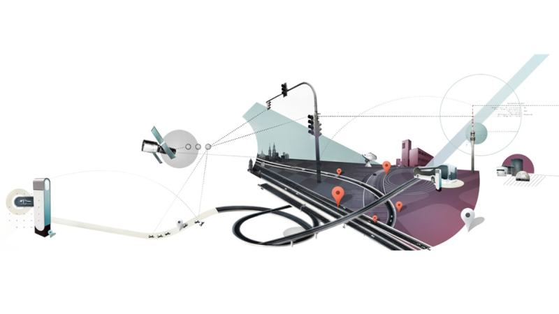 Graphic presentation of E-mobility