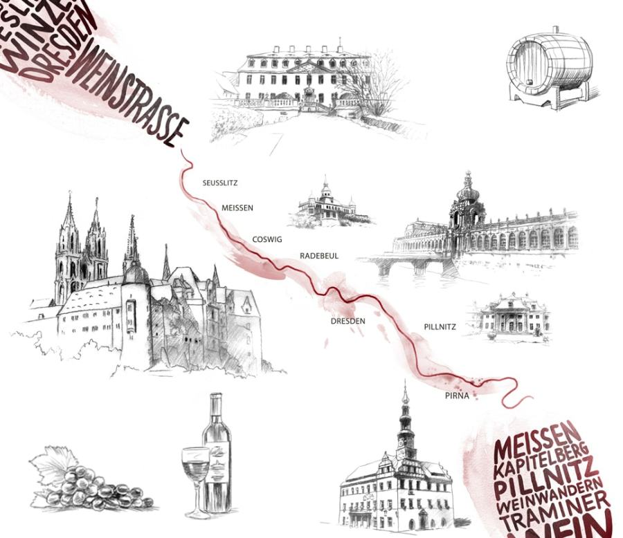 The Saxon Wine Route and its many treasures – new grape varieties, young winegrowers and ever popular classics