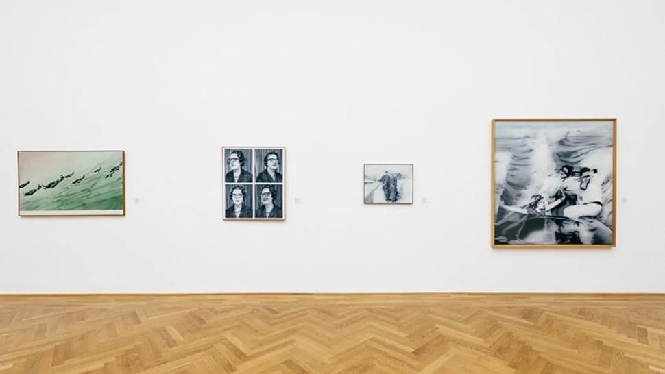 Werke von Gerhard Richter im Albertinum