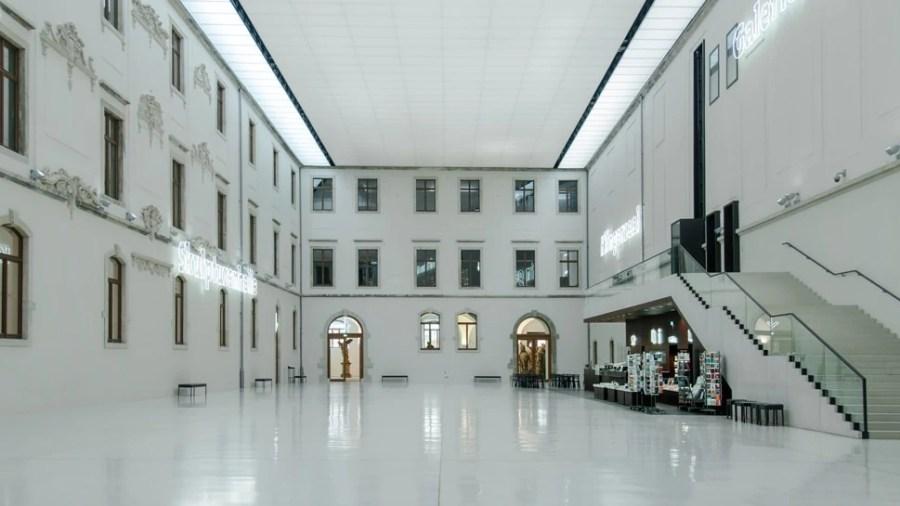 Atrium of the Albertinum