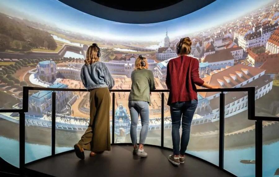 Ausstellung Zwinger Xperience Dresden