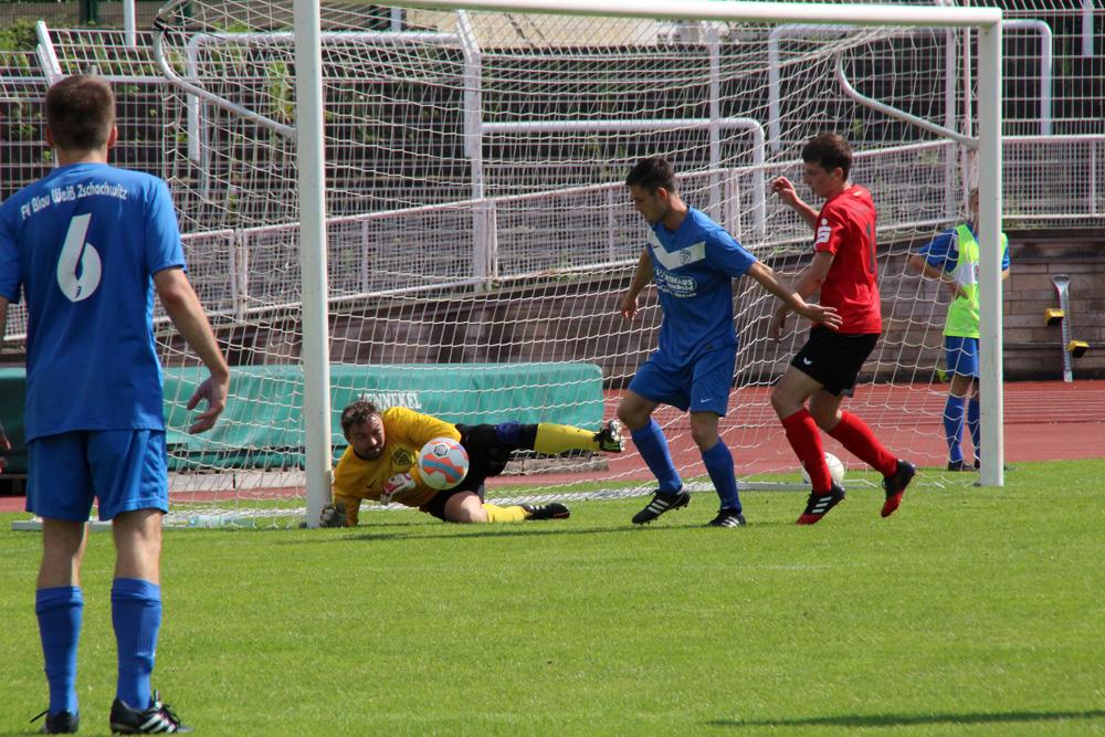 26. Spieltag: Dresdner SC - FV Blau-Weiß Zschachwitz 2:5