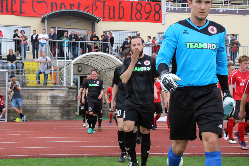 2. Spieltag: Dresdner SC - SG Dresden Striesen 1:8