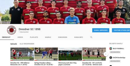 Werde Fan auf den Social Media-Kanälen des DSC