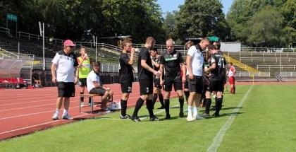 Erstes Testpiel gegen Eintracht Schkeuditz