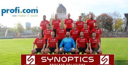 Dresdner IT-Unternehmen unterstützen Ü35-Fußballer