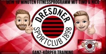 Fit in 10 Minuten: Ganzkörper-Workout mit Timo und Nico