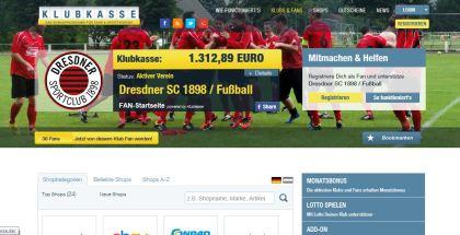 Klubkasse.de: Unterstütze den DSC durch deine Alltagseinkäufe
