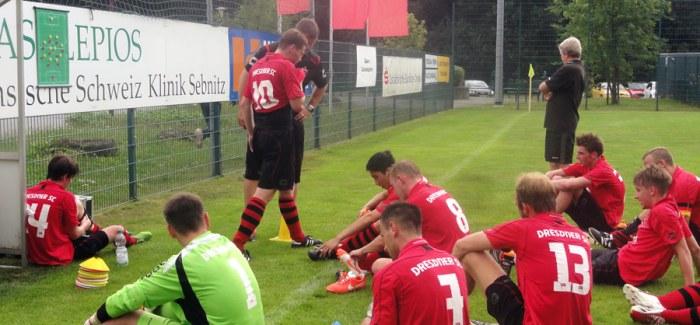 Testspiel gegen Landesliga-Absteiger