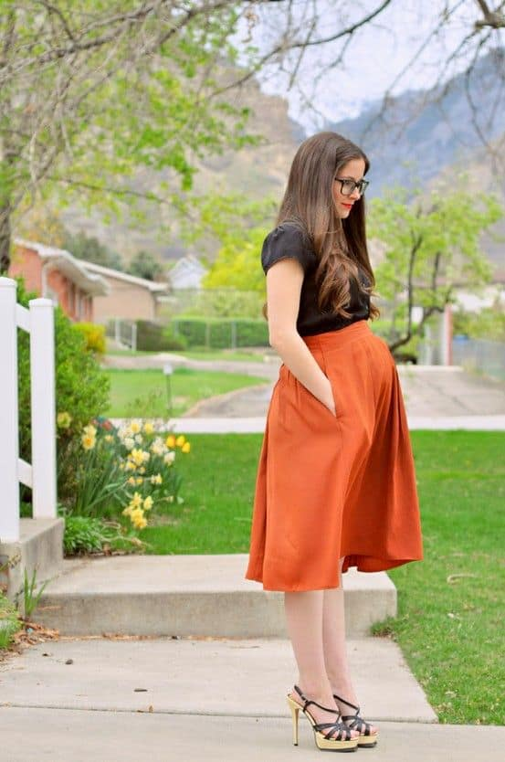 Maternity-fashion-trends-2016-dresses-for-pregnant-women-street-fashion-2