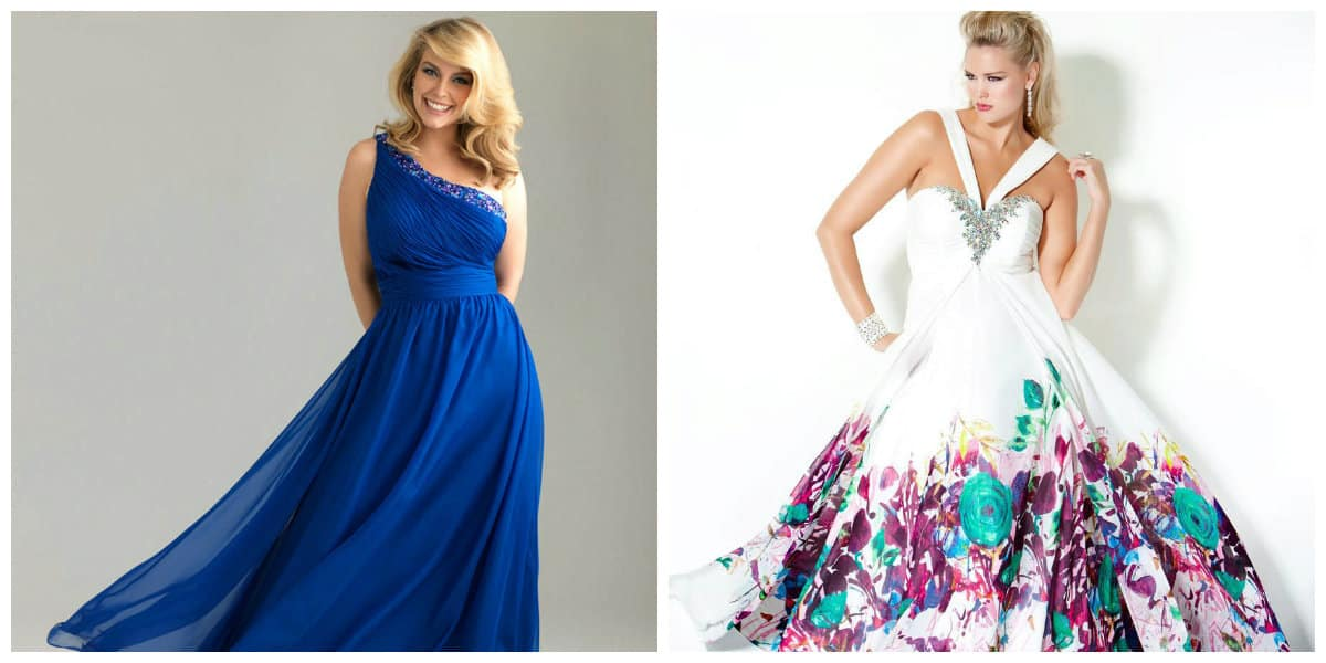 Plus Size Prom Dresses 2019: Trendy Plus Size Evening