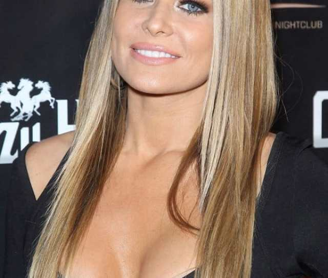 Carmen Electra Celebrates St Birthday In Sexy Little Black Dress