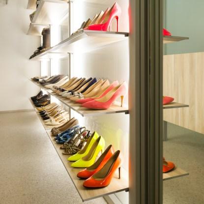 schoenen in dressings optimaal opbergen