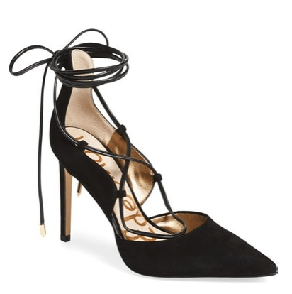 ed1c2dad68be Review  Sam Edelman Dayna Lace-up Pumps - DRESSED ACCORDINGLY