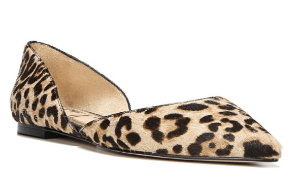 Review: Sam Edelman Rodney Pointy Toe d'orsay Flats