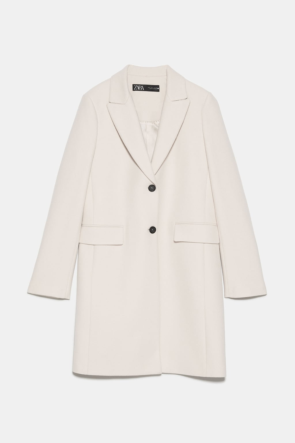 Zara Menswear Coat - White