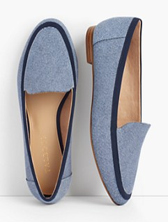 Loafers look smart and casual