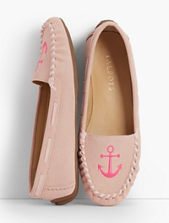 Moccasins look casual and comfort oriented