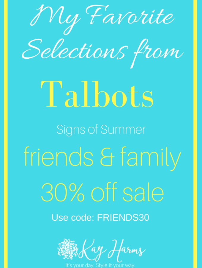 My Talbots Favorites