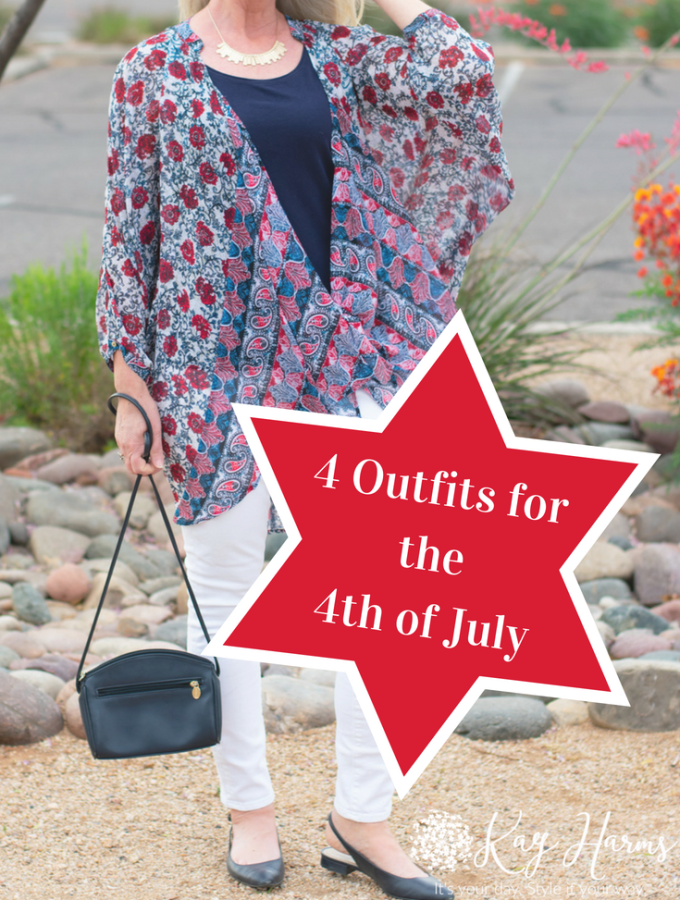 4 Outfits for the 4th of July for Women