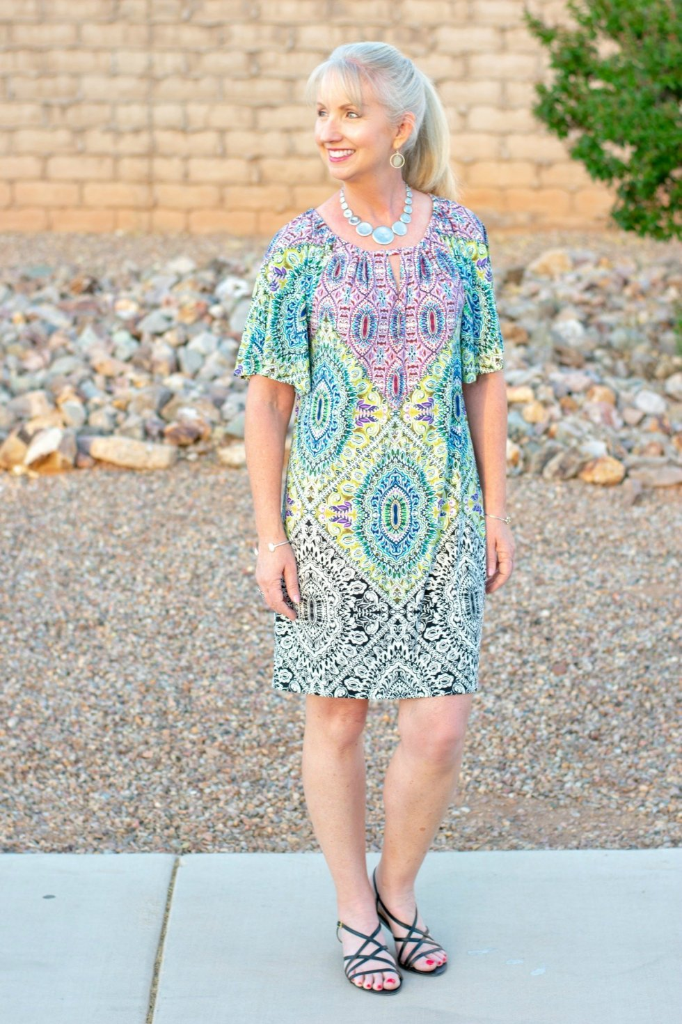 Medallion Print Dress for Chico's for ease and style