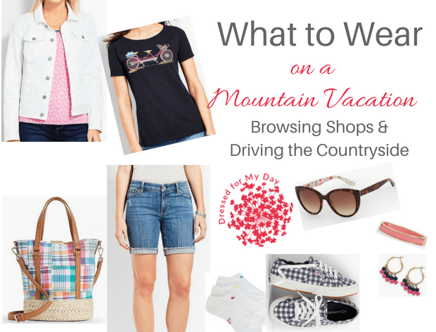 What to Wear Mountain Vacation Browse Shops and Drive the Countryside