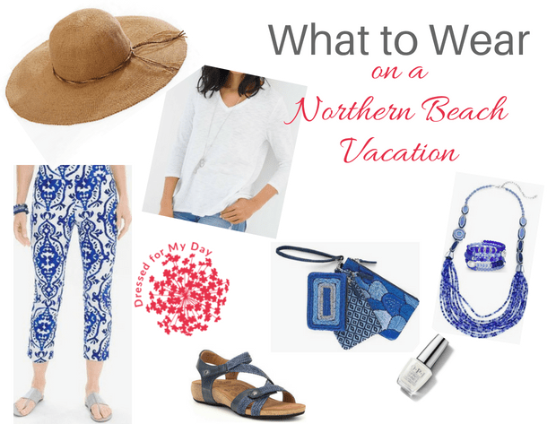 What to Wear Northern Beach Vacation Shopping Sightseeing