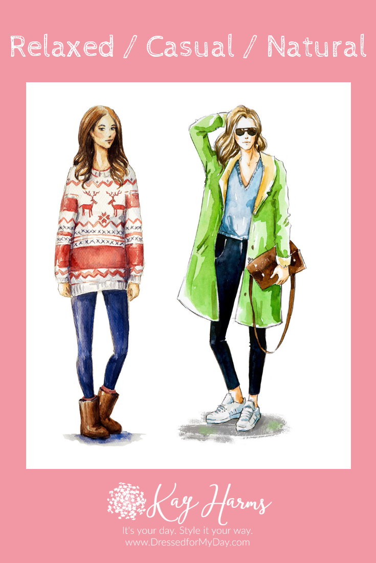 Personality Styles - Relaxed Casual Natural