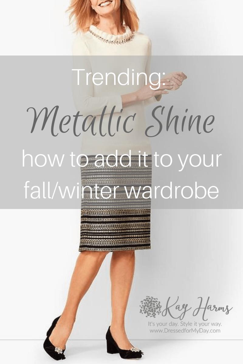 Trending Metallic Shine