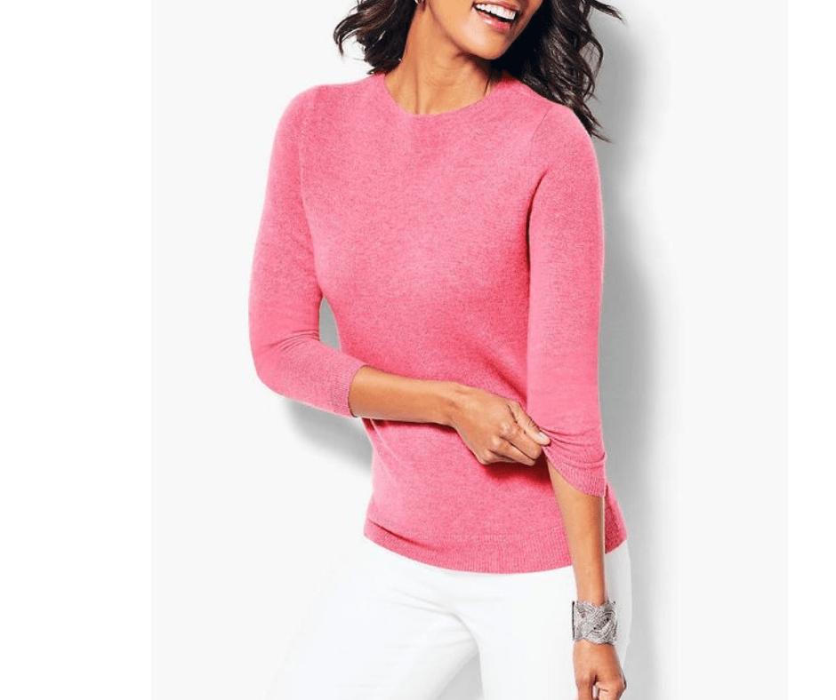 My November 2018 Favorites Cashmere Sweater