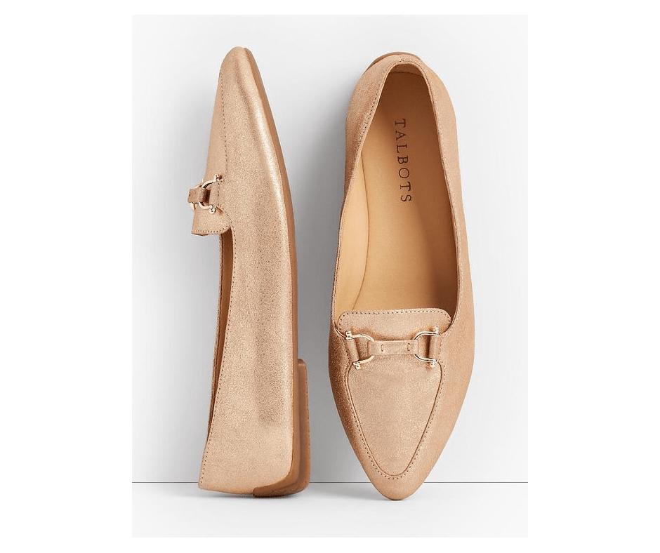 My November 2018 Favorites Gold Shoes